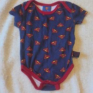 Superman onesie 3-6 months Superman Logo onesie